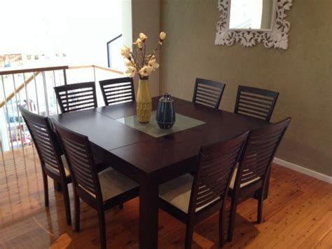 8 Chair Square Dining Table With Regard To Your Own Home Square Dining Table With 8 Chairs
