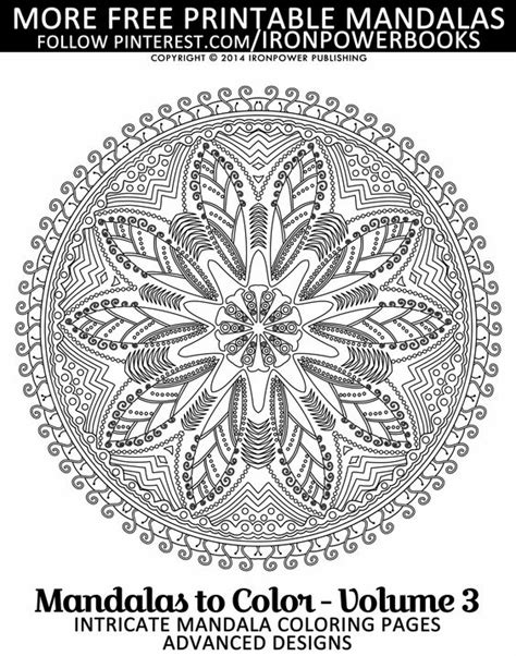 intricate mandala coloring pages free free mandala coloring pages for adults this