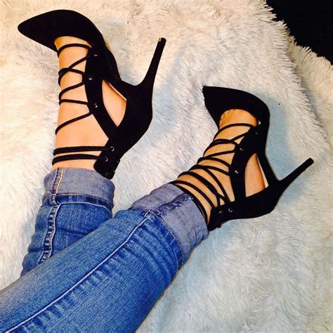 Pointy Lace Ups 1000 ideas about heel stoppers on high heel