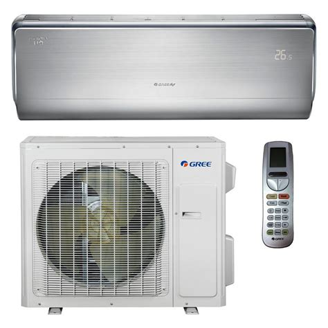 Ac Mini gree high efficiency 9 000 btu 3 4 ton ductless duct