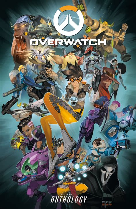 libro overwatch anthology volume 1 take a look at this gorgeous overwatch art book out in october vg247
