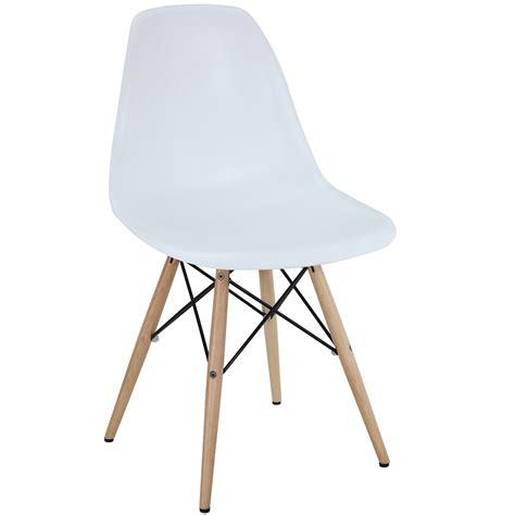 pyramid dining side chair wood base dowel legs