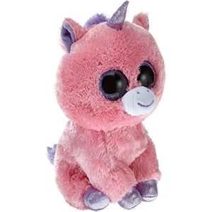 ty 7136963 magic buddy beanie boos unicorno grande peluche 24 cm colore rosa