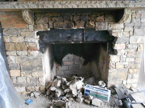 Fireplace Rebuild by Stoneblog Living Masonry