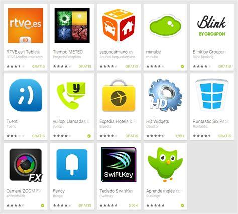aprender las mejores aplicaciones las mejores apps y juegos android de 2013 seg 250 n google