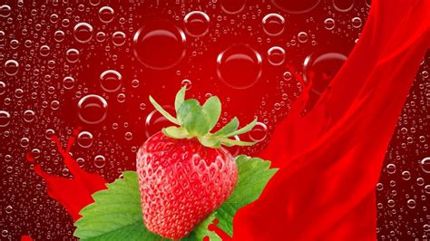 fruit wallpaper wallpaper 21 strawberry fruit wallpapers backgrounds images