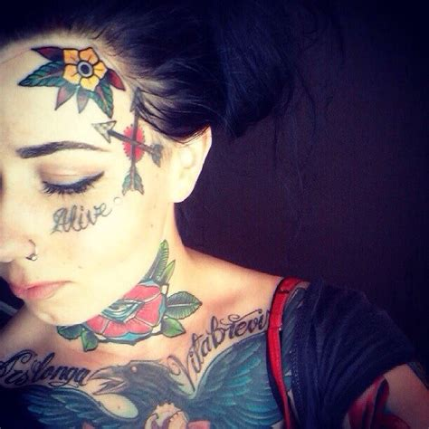tattoo girl face 17 best images about tattoo and paint on pinterest full