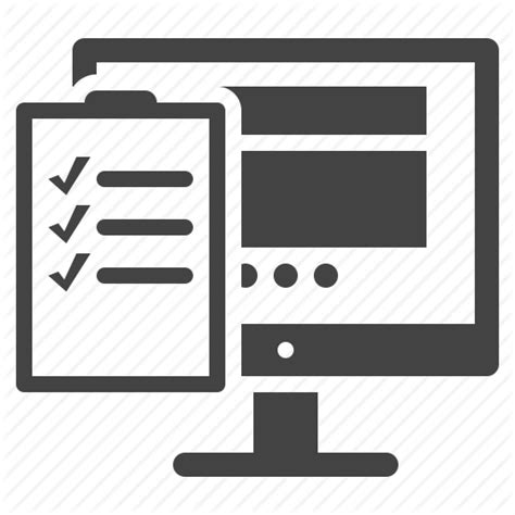 test web tasks testing to do list usability icon