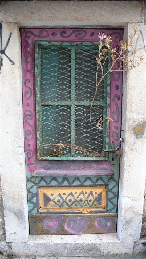 funky front doors funky door doorways of croatia and montenegro pinterest