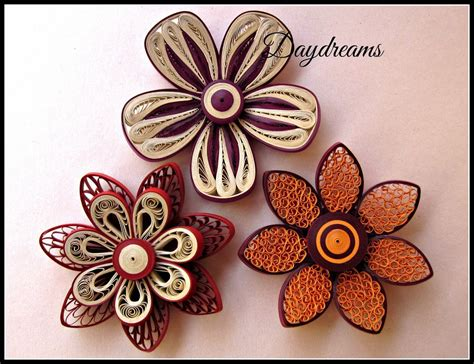 Paper Quilling Flowers - daydreams for my for quilled flowers quiling