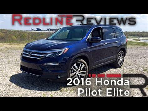 redline honda 2016 honda pilot elite redline review