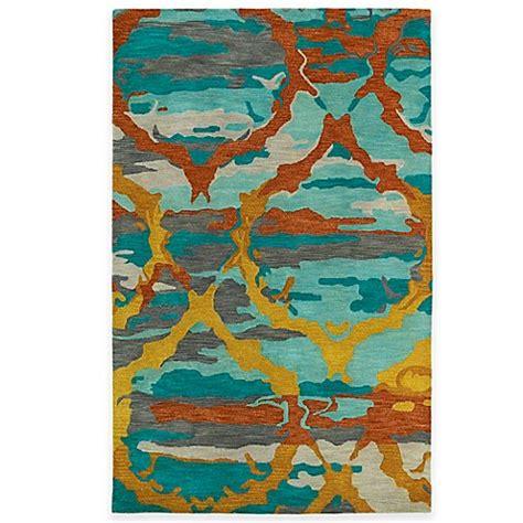 ikat bath rug kaleen brushstrokes ikat rug bed bath beyond