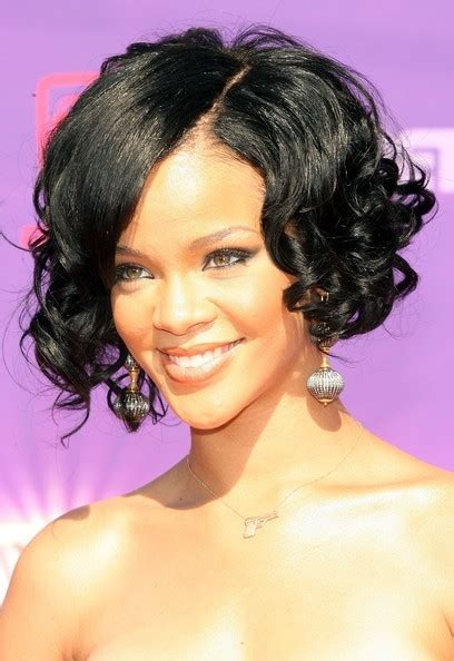 inverted bob hair style on african american curly hair inverted bob