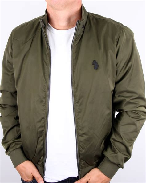 Nuts Bomber Jacket luke fluff nut funnel neck bomber jacket khaki s