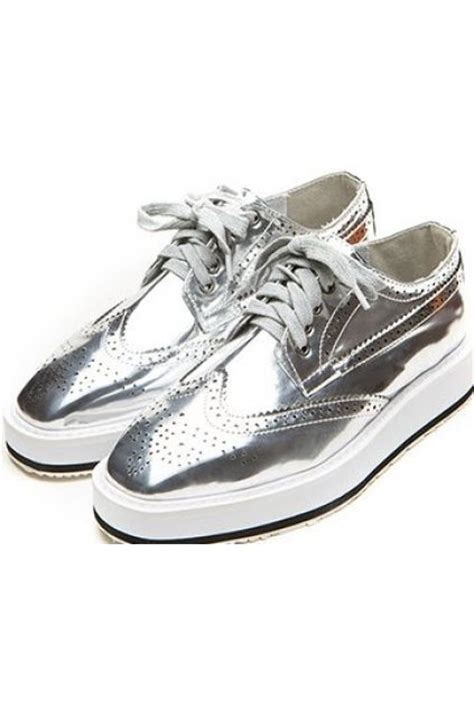 silver oxford shoes womens 403 forbidden