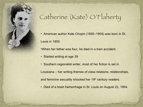 biography kate chopin the story of an hour biography kate chopin the story of an hour essay about the