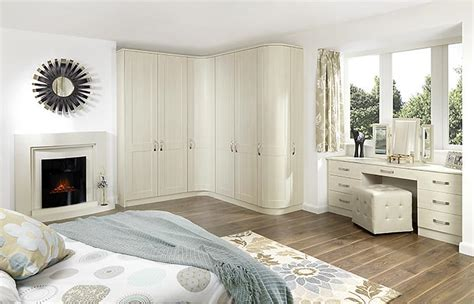 White Shaker Bedroom Furniture by Heseltines Shaker White Avola Fitted Bedroom Bradford