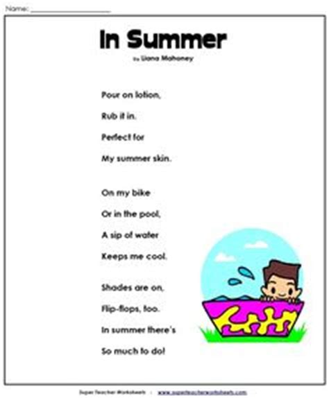 themes of old english poetry summer poem free printable end of the school year crafts