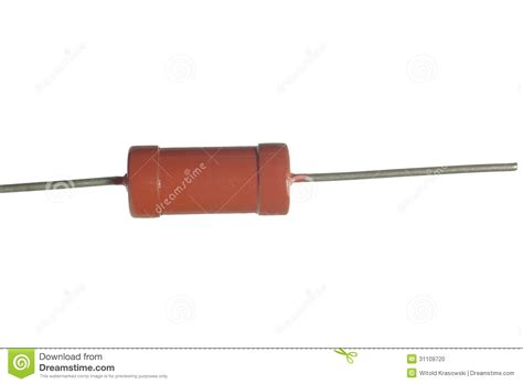 brown resistor resistor stock photo image 31109720