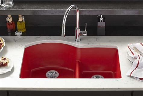 red kitchen sink elkay composite sinks elkay egranite elkay egranite with
