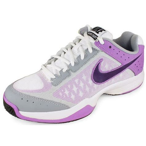 tennis shoes womens nike cage court purple grey s tennis shoes review