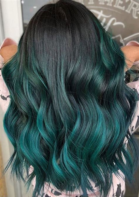 blue green hair color 43 gorgeous blue green pulp riot hair color ideas for