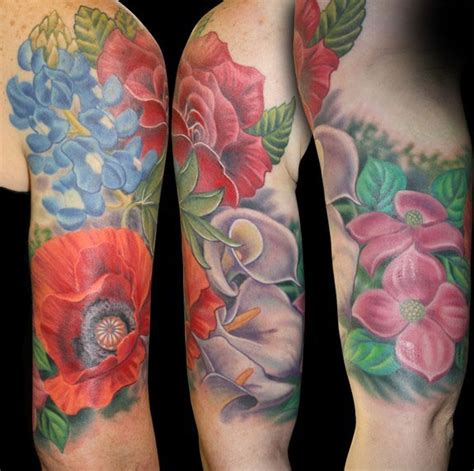 half sleeve flower tattoo designs floral half sleeve tattoos for half sleeve tattoos