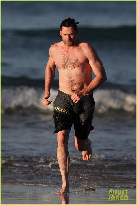 Detox Shirtless All by Hugh Jackman Runs Shirtless On The With His Ripped