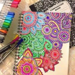 easy colorful drawings what s my favorite color all of em 27 photos