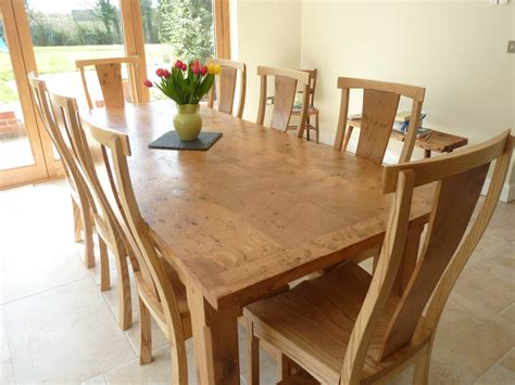 big dining room table large pippy oak dining table and chairs quercus furniture