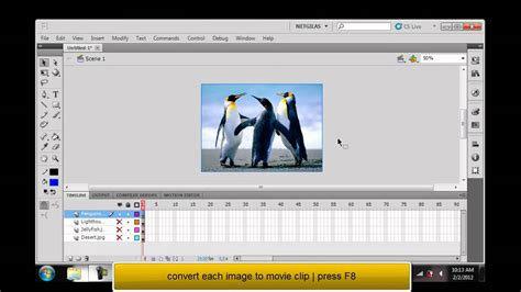 tutorial for flash cs5 beginners adobe flash professional cs5 tutorial fade in fade out