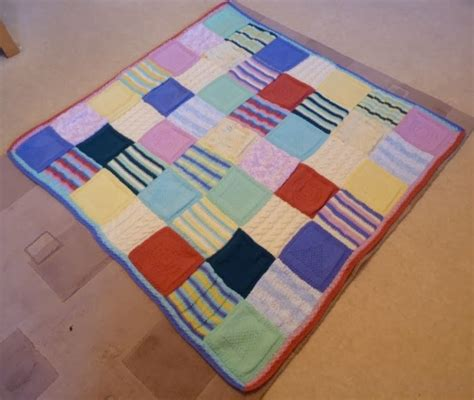 Easy Patchwork Blanket - frankie doodles how to make a simple but beautiful