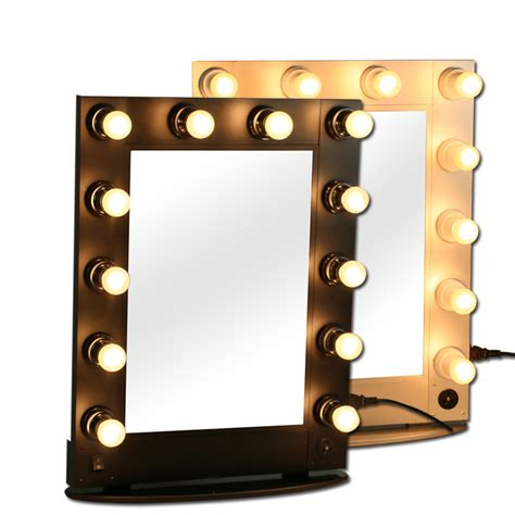 Makeup Mirror With Light professional makeup mirror mirrors with bulbs makeup artist mirror 12pcs light bulb in makeup