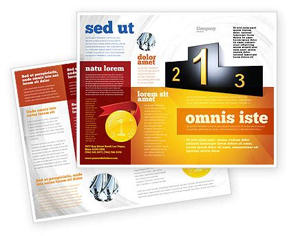 one sided brochure template one sided brochure brochure templates design and layouts