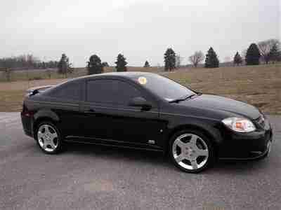 buy used 2007 chevrolet cobalt ss coupe black 2 owners manual 2 door 90k miles in buy used 2007 chevy chevrolet cobalt black ss supercharge manual coupe 2 0l 2 doors 4cyl in