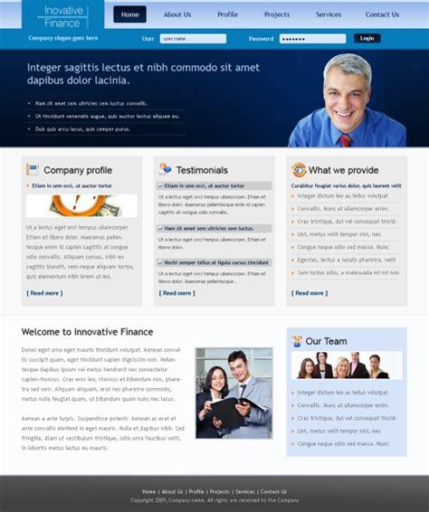 Modern Business Html Template 6316 Business Website Templates Dreamtemplate Modern Business Website Templates