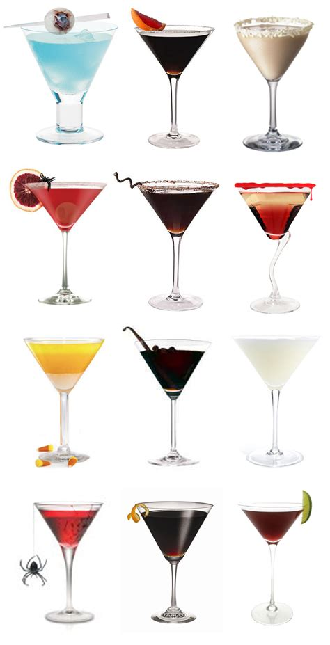 halloween martinis for your wedding pixel ink