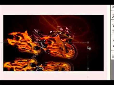 imagenes de wolverine en moto photoshop moto en llamas part 2 youtube