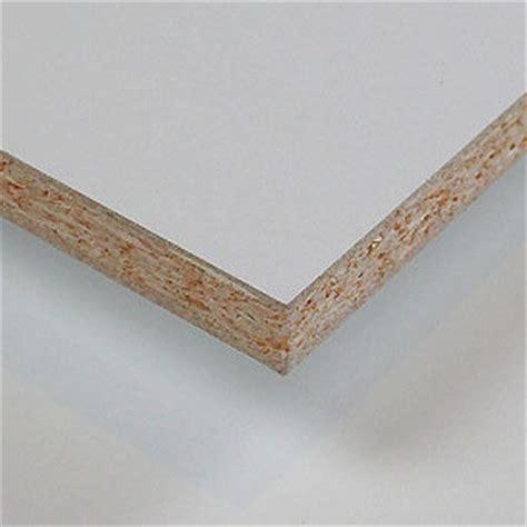 Holzplatte Weiß Beschichtet by Spanplatte Beschichtet Wei 223 2800 X 2070 X 16 Mm