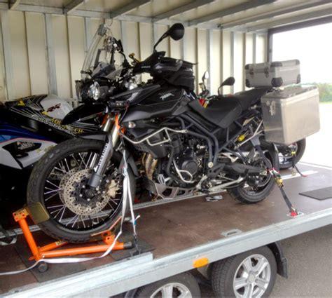 Filderstadt Motorrad by Motorrad Transport Info Mammut Cargo Transport
