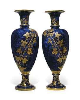 Humm3r Napoleon Blue a pair of sevres napoleon iii porcelain mottled cobalt