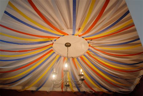 Ideas To Decorate With Streamers by The Rosier Rundown The Rosier Three Ring Circus Came To Town