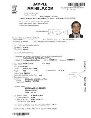 new form for renewal of indian passport in dubai