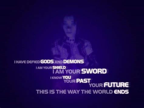 cortana sword i have defied gods and demons i am your shield i am your