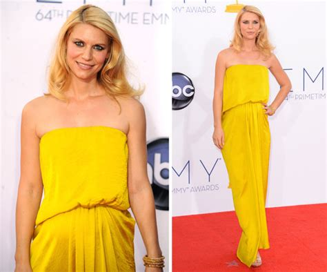 claire danes yellow dress pictures of pregnant claire danes in yellow lanvin dress