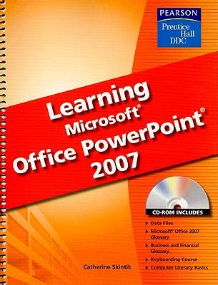 learning microsoft excel book learning microsoft office powerpoint 2007 book by