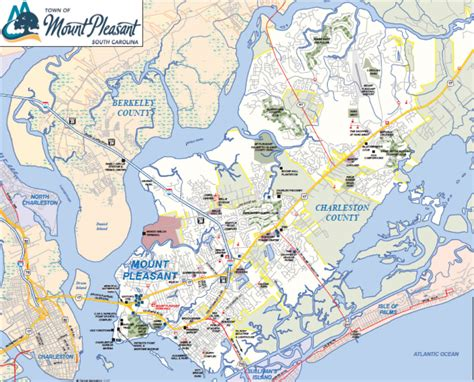 map of mt pleasant sc maps of charleston real estate area residential and