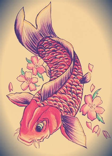 koi flower tattoo designs 21 koi fish design and ideas