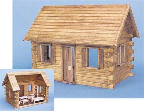 real toys log cabin dollhouses from fingertip