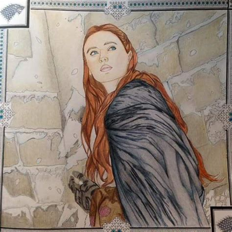 thrones colouring book sansa 1027 best images about coloring book of thrones on